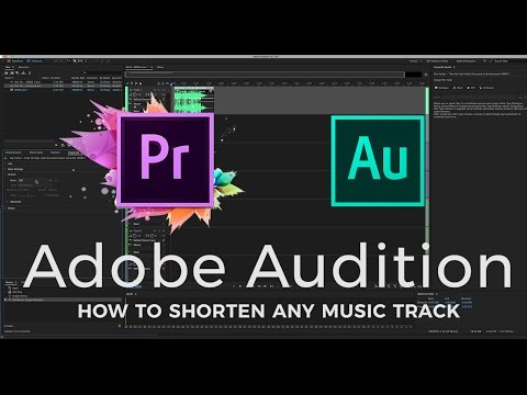 SHORTENEXTEND MUSIC Automatically  Adobe Audition 2017  2 Min Tutorial  Editing Made Easy Ep5
