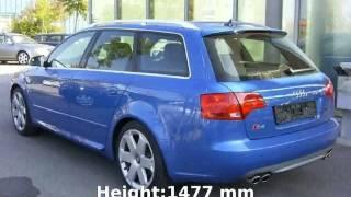 2002 Audi S4 Avant -  Transmission Speed Technical Details Power Equipment Specs Specification
