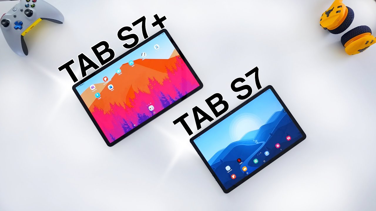 Samsung Galaxy Tab S7 vs Tab S7 Plus REVIEW