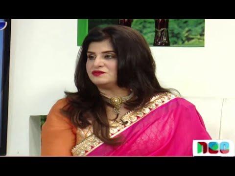 Neo Pakistan 25 May 2016   Samia Khan With Her Husband (Astrologer)