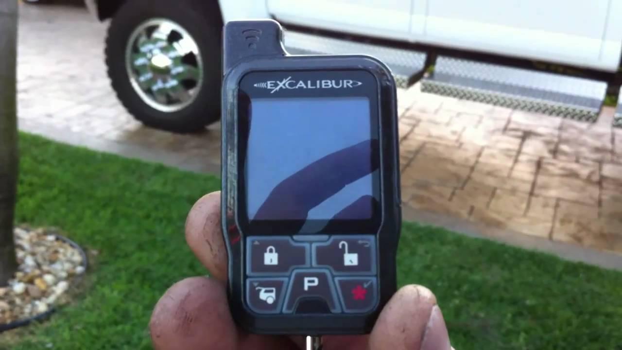 Excalibur 2020 Color Remote Alarm Youtube