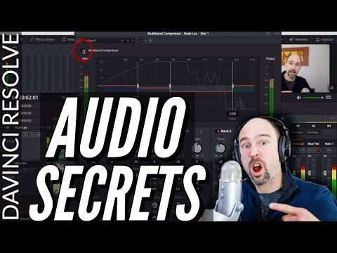 How to Enhance Audio in Davinci Resolve 15 | Multiband