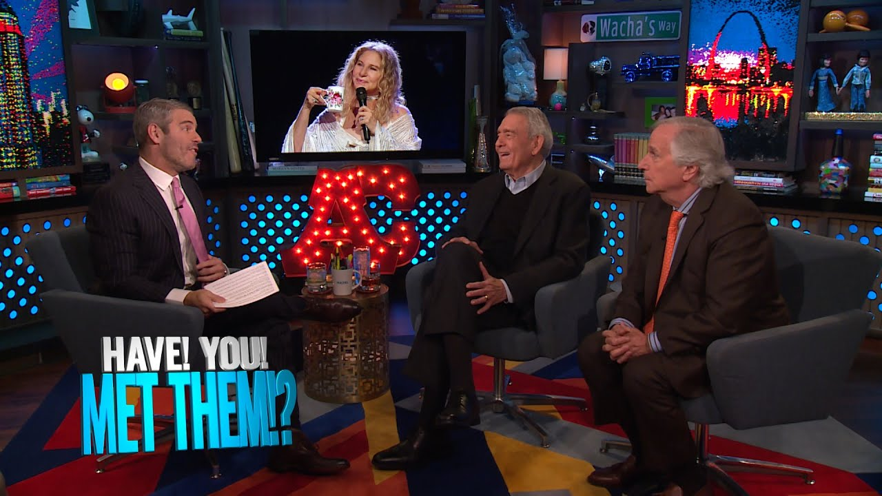 Has Henry Winkler Been to Barbra Streisand's Mall? | WWHL