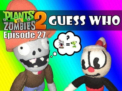 Plants Vs Zombies 2 Plush Episode 27 Wild West Guess Who