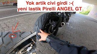 Civi girdi - Pirelli Angel GT yeni lastik inceleme - Cekilis var!!!