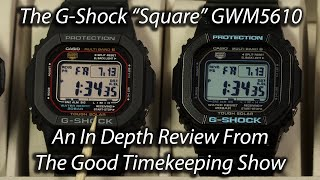 Casio G-Shock GW-M5610 In-depth Review
