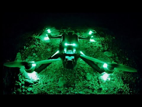 Traxxas ATON MONSTER 1st Flight NIGHT TIME 28 MIN FLIGHT REVIEW