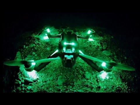 Traxxas ATON MONSTER 1st Flight NIGHT TIME 28 MIN FLIGHT REVIEW