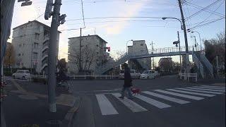 自転車の車載動画です。東京足立区の西保木間2丁目付近から、竹の塚な...