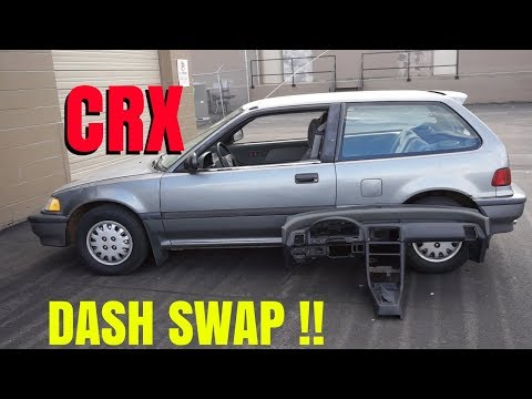 CRX DASH SWAP!   IN EF HATCH!  HSG EP. 6-7