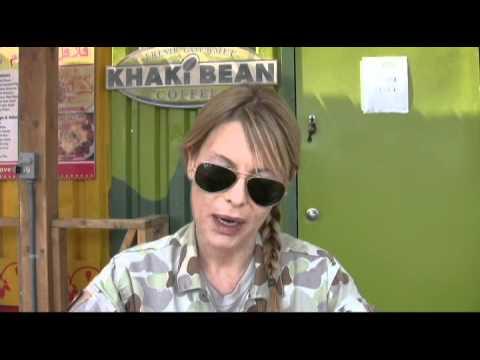with Combat Hospital star Deborah Kara Unger
