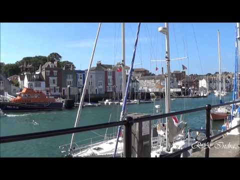Jalan-jalan ke Weymouth, Dorset, Inggris HD