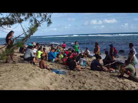 Multicultural Marine Conservation Exchange Huli'ia