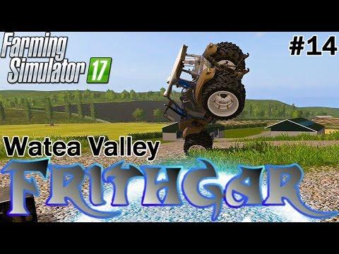 Let's Play Farming Simulator 2017, Watea Valley #14: Raking And Baling!