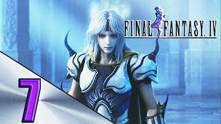 FINAL FANTASY 4 WALKTHROUGH PART 7 O RESGATE DA ROSA