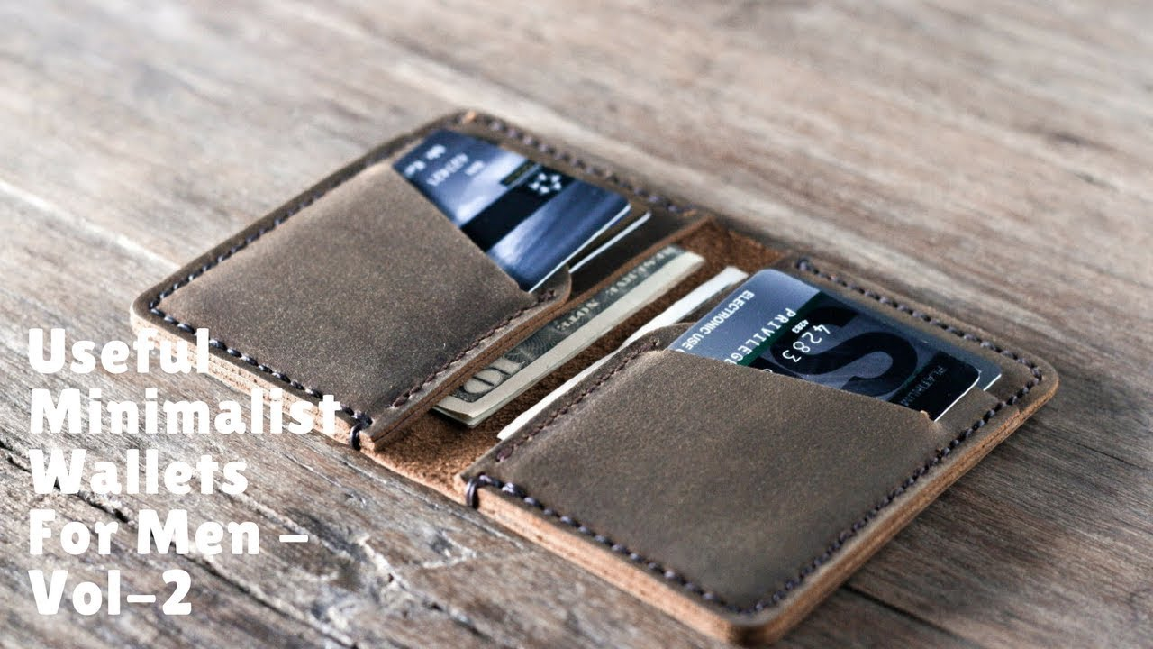 Useful Minimalist Wallets For Men - Vol-2 - YouTube