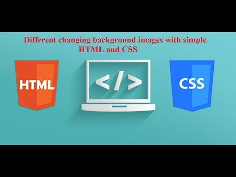 Different changing background images | background image slider | simple HTML and CSS