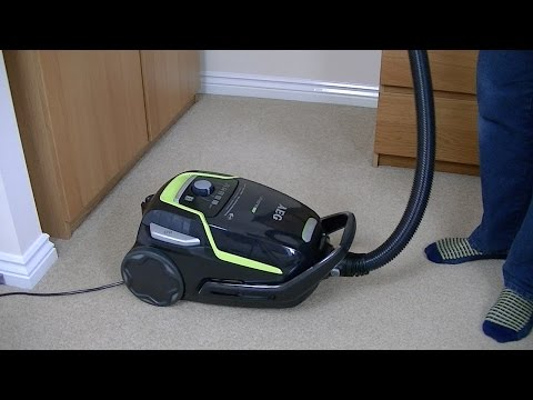 aeg-ultraone-green-vacuum-cleaner-unboxing-&-first-look