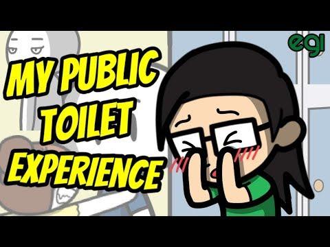 Pengalaman Gue di Toilet Umum