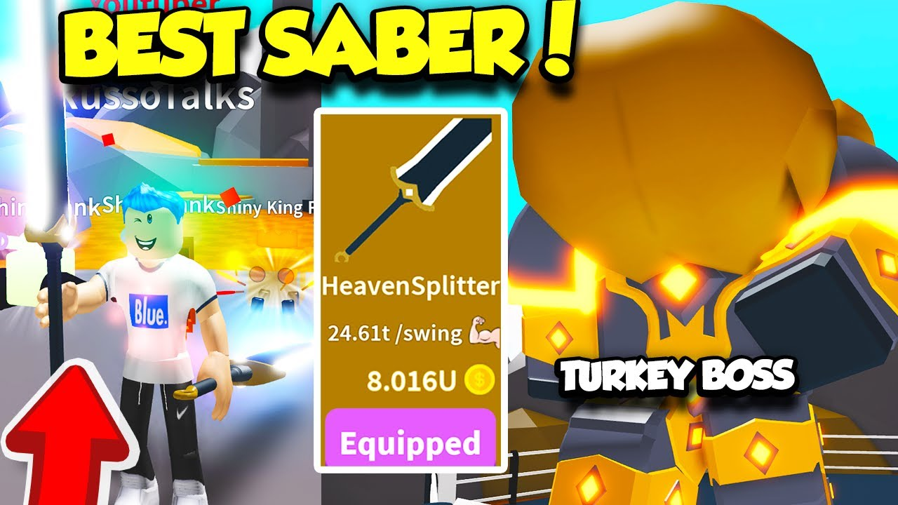 Getting The Most Expensive Saber And Defeating The Turkey Boss In