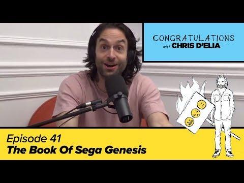 Congratulations Podcast w/ Chris D'Elia | EP41 - The Book Of Sega Genesis