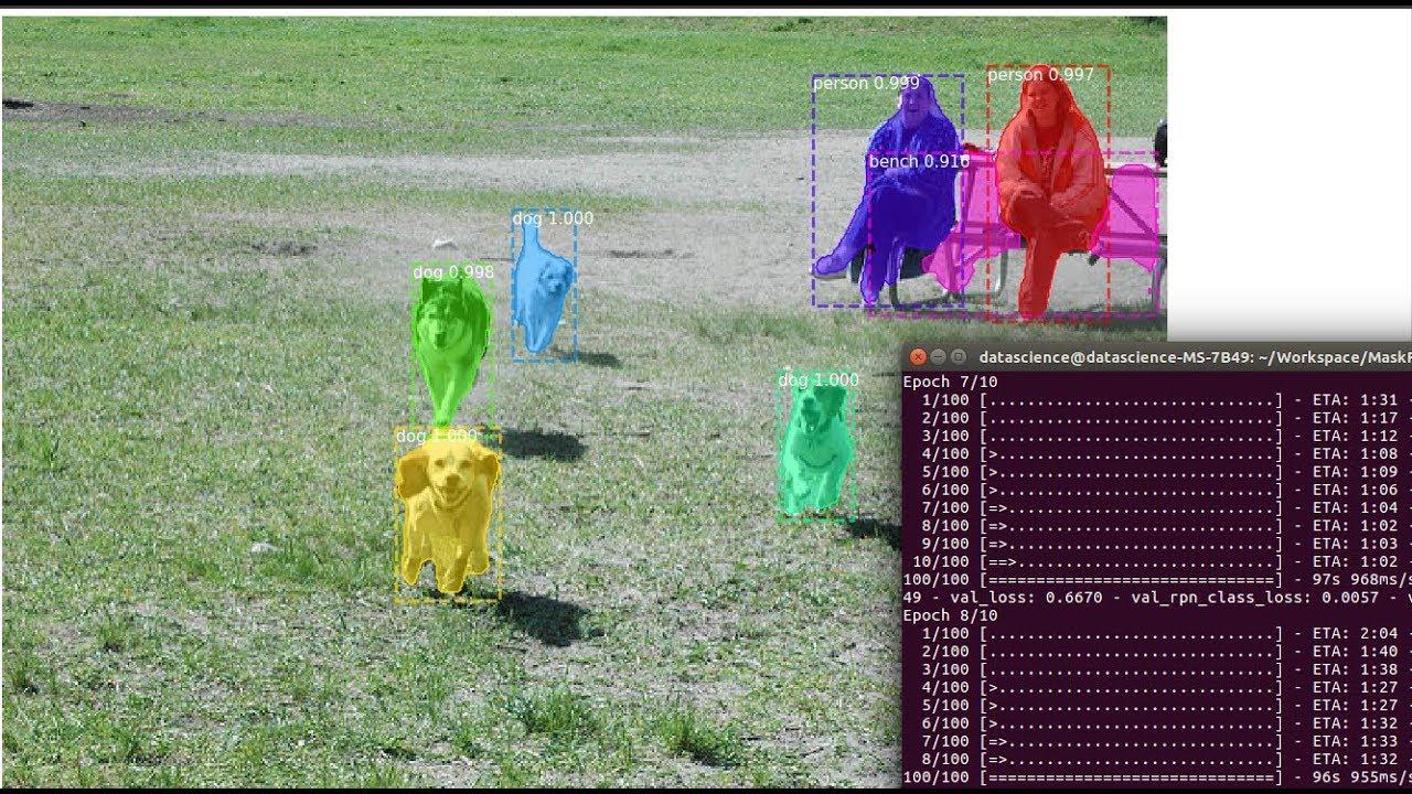 Object Detection Custom Training of Image Mask RCNN Deep Learning | AI  SANGAM