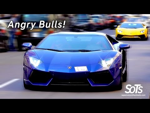 The Arab Supercars Invasion in London August 2016 Part 3