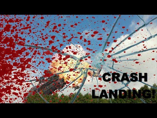 Space Engineers  Survival Part 1 - Crash Landing