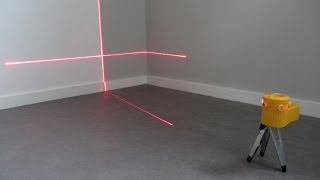 Laser Level Pro 6 Beam LED Light