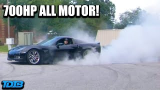 homepage tile video photo for Building a 700HP ALL MOTOR Corvette Z06 in 12 Minutes!