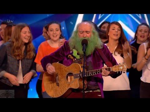 Britain's Got Talent 2017 Steve Andrews Folk Singer Full Audition S11E06
