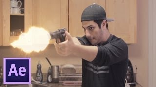 Realistic Muzzle Flash Tutorial - Adobe After Effects CC