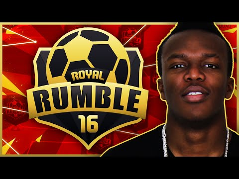 FIFA 16 ROYAL RUMBLE!!!!