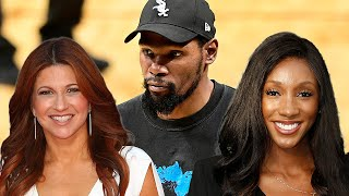 Kevin Durant 'Likes' Tweet DRAGGING Rachel Nichols After She Was Exposed Talking About Maria Taylor
