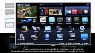 Samsung Smart TV - Smart Hub