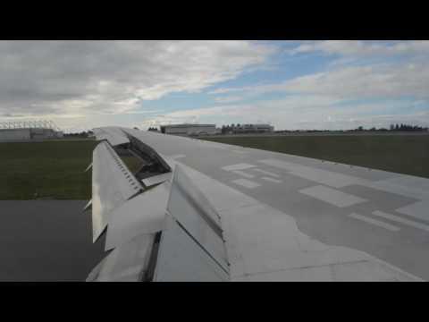 Air Canada 767-300ER landing at Ottawa MacDonald-Cartier International Airport
