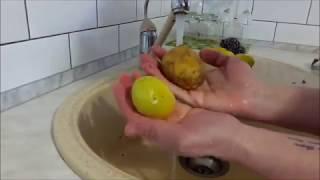 Как быстро почистить картошку.Как легко почистить молодой картофель. Как почистить картофель.Лайфхак