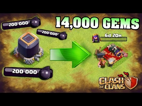 SPENDING 500,000+ DARK ELIXIR! GEM SPREE!! | Clash Of Clans Hero Upgrades!