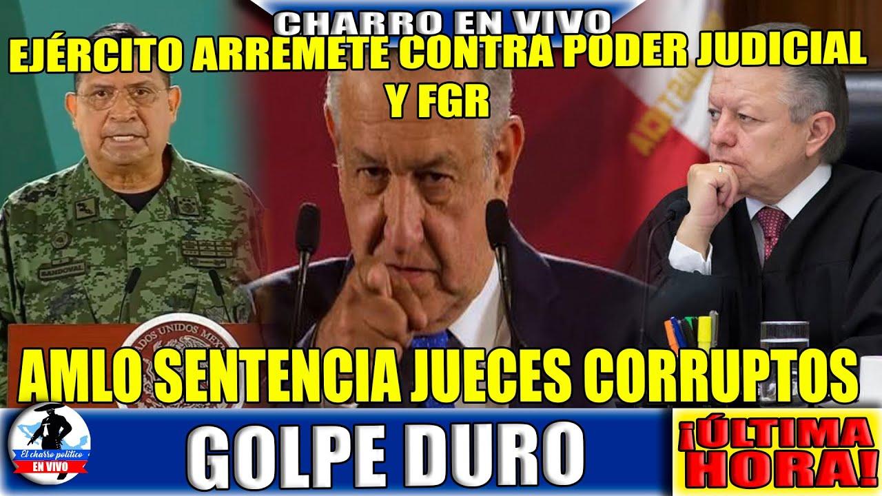 Solo se Hacen Pen@$)&; Ejército Arremete Contra Poder Judicial y Gertz Manero; AMLO Opina Lo Mismo.