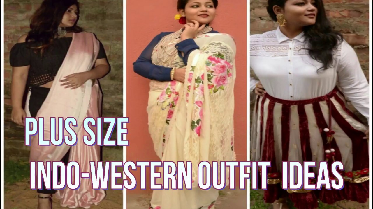 PLUS SIZE INDO-WESTERN OUTFIT IDEAS