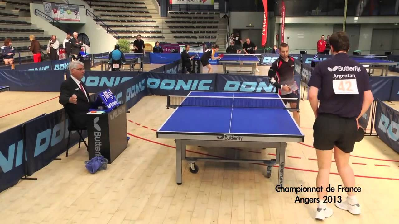 Championnat De France Handisport Tennis De Table 2013 Angers Youtube