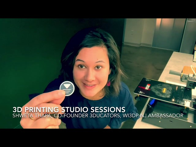 3D Printing Studio Sessions
