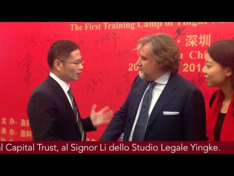 Global Capital Trust & Studio Legale Yingke - Trust Conference 2014.11.8-9 - Shenzhen, China