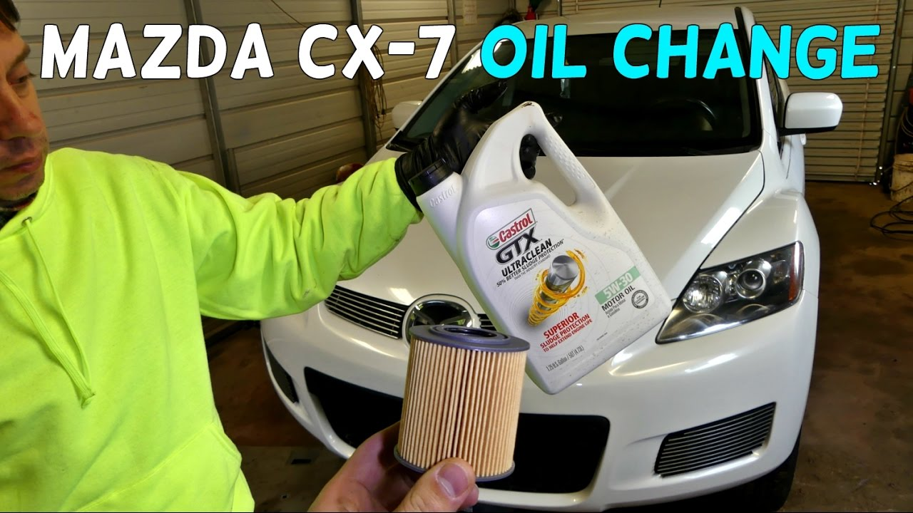 2007 mazda cx 7 oil type