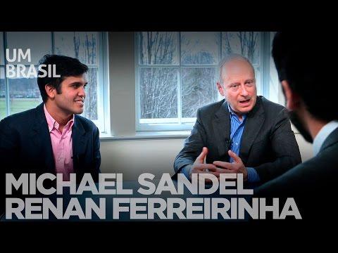 Michael Sandel fala sobre ética, justiça e futuro da democracia no Brasil
