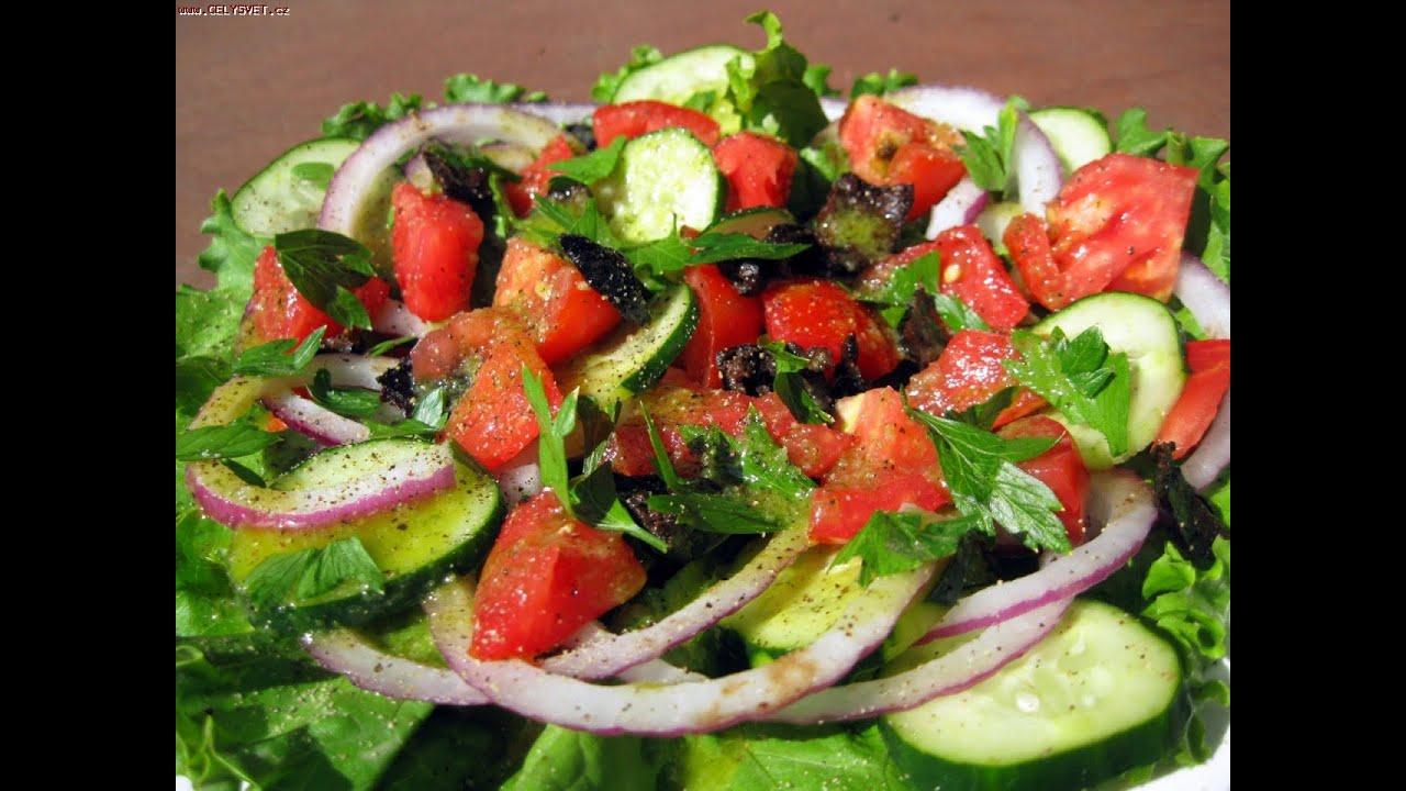 Вкуснейший Салат с Сыром и Оливками