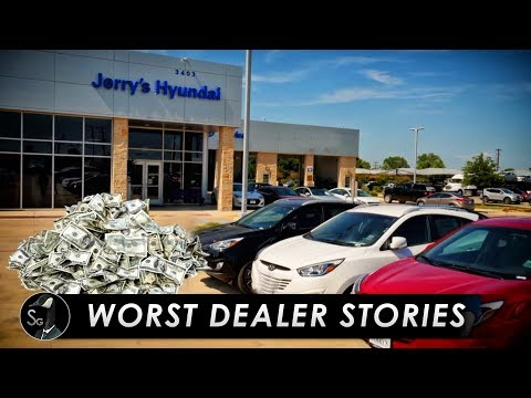 The Worst Car Dealership Experiences