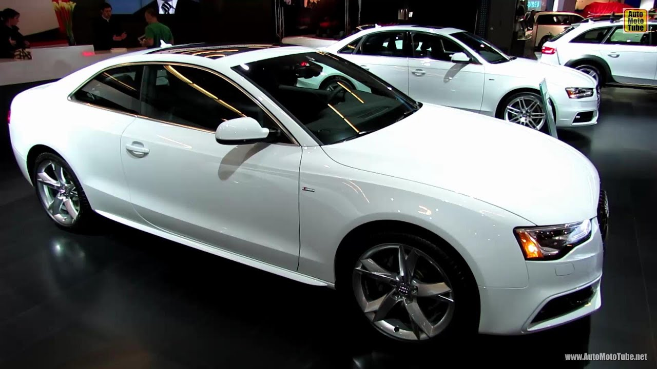 2013 audi a5 s line exterior and interior walkaround. Black Bedroom Furniture Sets. Home Design Ideas