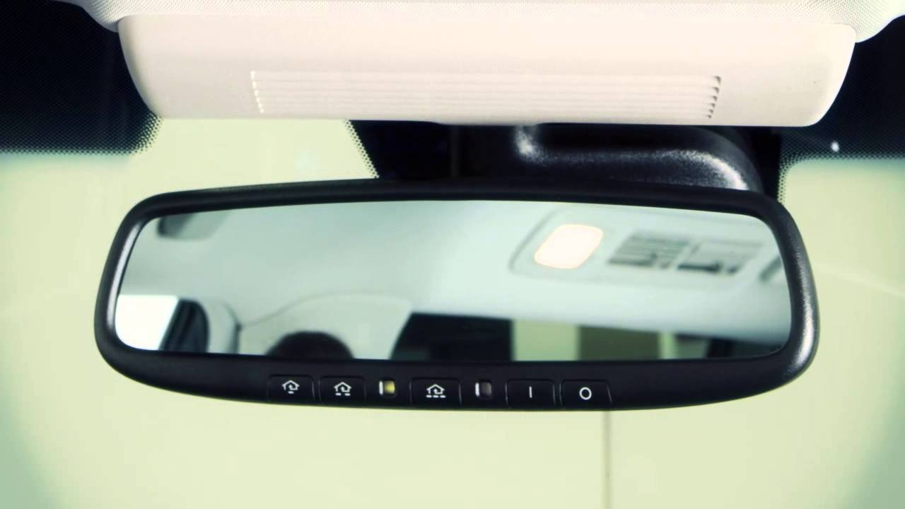 2013 Infiniti Qx Automatic Anti Glare Rearview Mirror If So