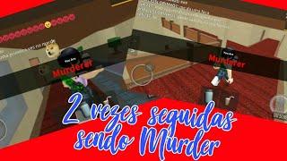 ROBLOX - Fui Murder duas vezes se seguidas! (Murder Mystery 2)